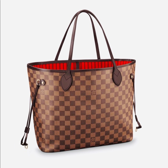 718ac7524e5 Louis Vuitton Bags   Neverfull Mm In Damier Ebene   Poshmark